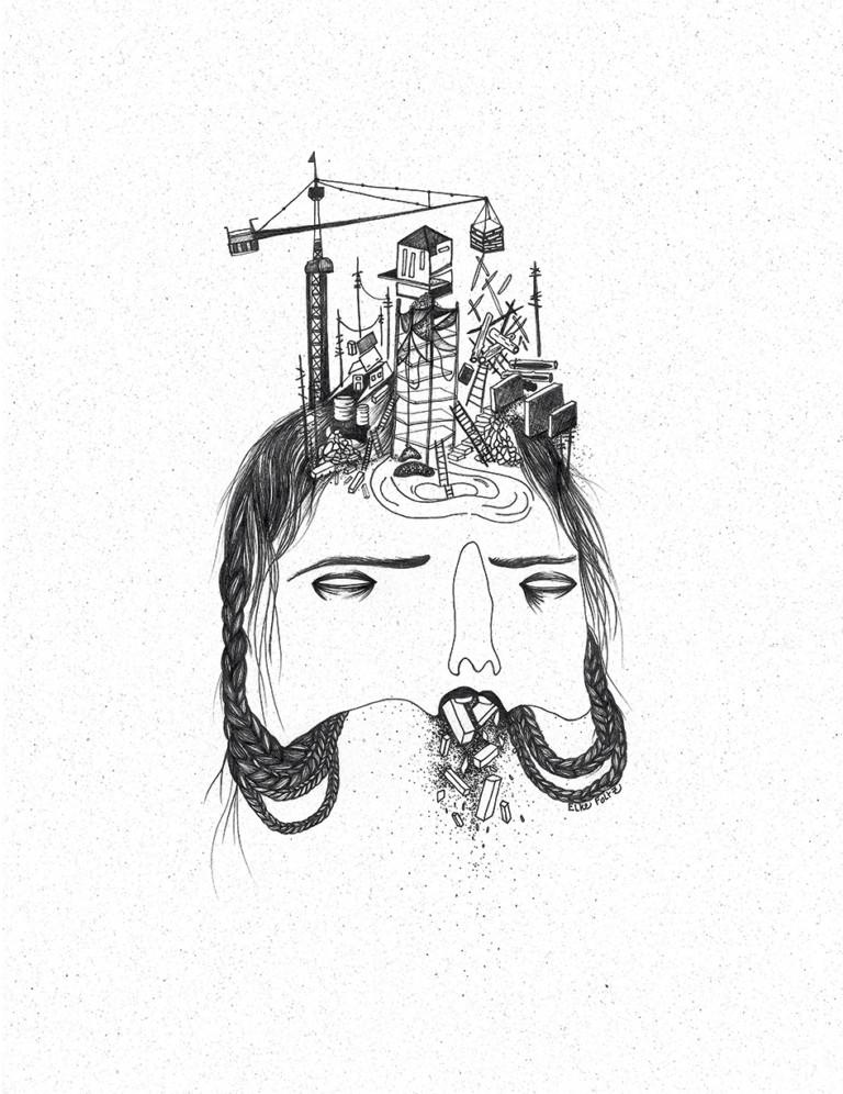 Elke Foltz / Illustration CHANTIER