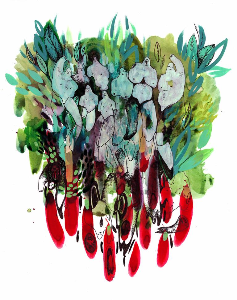 Elke Foltz / Illustration ENNUI ET VOLUPTE