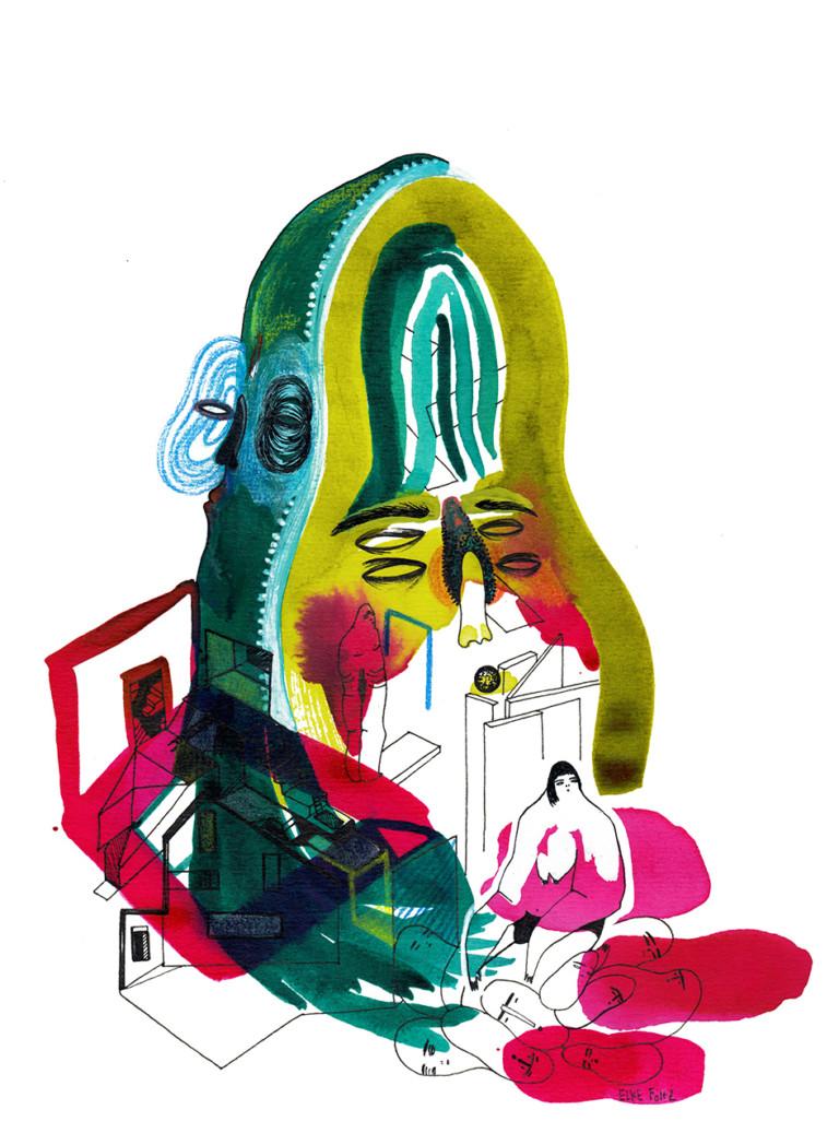 Elke Foltz / Illustration SOMEWHERE ELSE