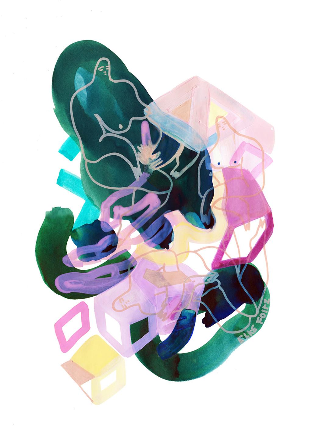Elke Foltz / Illustration RESTING TIME