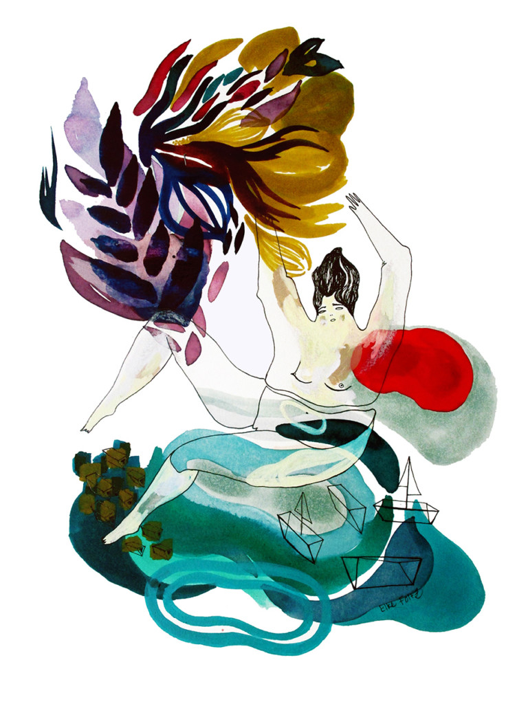 Elke Foltz / Illustration THE JUMP