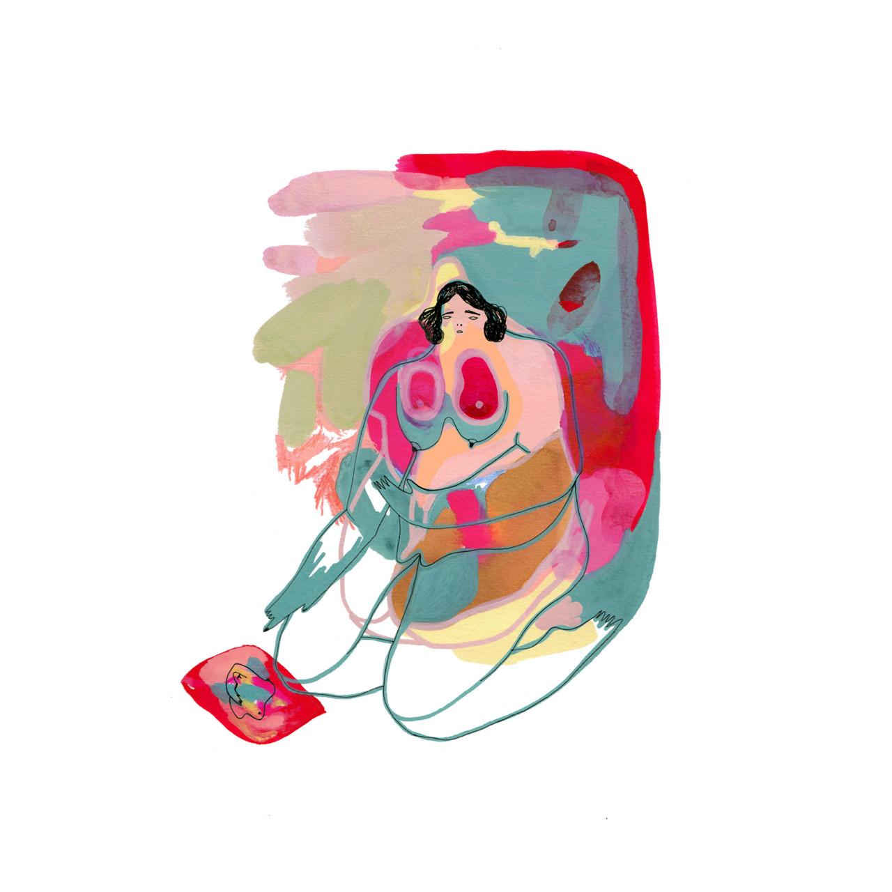 Elke Foltz / Illustration L'ABSENCE